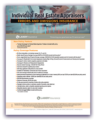 appraisers errors & omissions